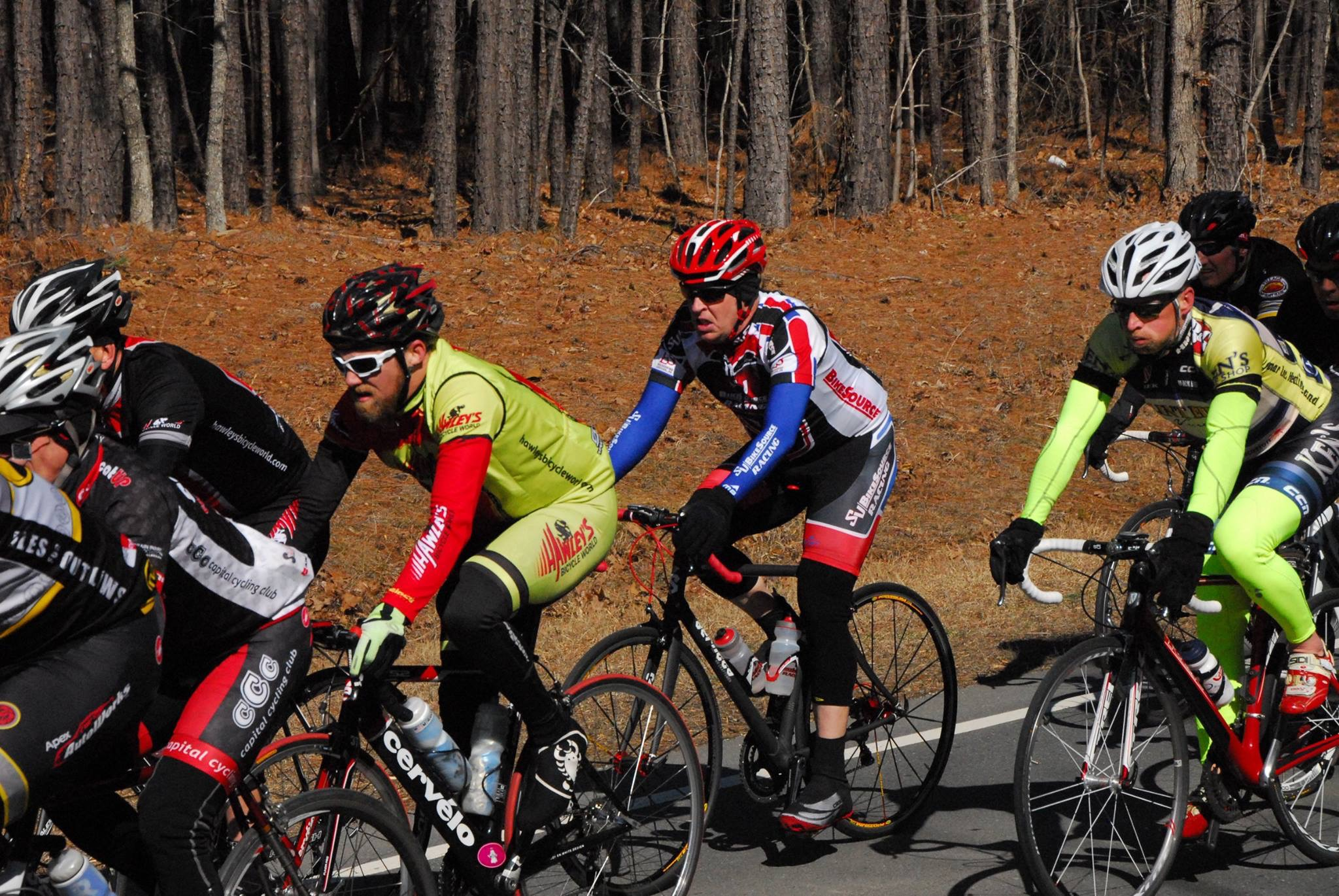 Mike's 2015 Road Race calendar